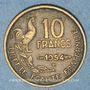 Monnaies 4e république (1947-1959). 10 francs Giraud 1954 B