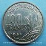 Monnaies 4e république (1947-1959). 100 francs Cochet 1956
