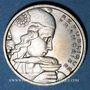 Monnaies 4e république (1947-1959). 100 francs Cochet 1958 B