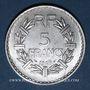 Monnaies 4e république (1947-1959). 5 francs Lavrillier aluminium 1949