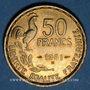Monnaies 4e république (1947-1959). 50 francs Giraud 1951 B