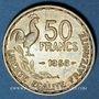 Monnaies 4e république (1947-1959). 50 francs Giraud 1958