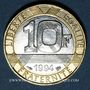 Monnaies 5e république (1959- ). 10 francs 1994 Génie de la Bastille, abeille