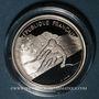 Monnaies 5e république (1959-). 100 francs 1989 J.O. Albertville 1992. Ski alpin