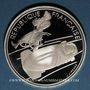 Monnaies 5e république (1959-). 100 francs 1990 J.O. Albertville 1992. Bobsleigh