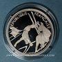 Monnaies 5e république (1959-). 100 francs 1990 J.O. Albertville 1992. Ski acrobatique