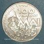 Monnaies 5e république (1959- ). 100 francs 1995. Commémoration de l'Armistice