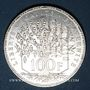Monnaies 5e république (1959- ). 100 francs Panthéon, 1982
