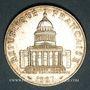 Monnaies 5e république (1959- ). 100 francs Panthéon, 1987