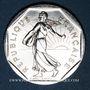 Monnaies 5e république (1959- ). 2 francs Semeuse 1990