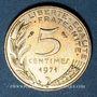 Monnaies 5e république (1959- ). 5 centimes Marianne 1971