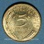 Monnaies 5e république (1959- /). 5 centimes Marianne 1972