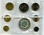 Monnaies 5e république (1959-). Série FDC 1973