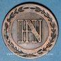 Monnaies Allemagne, Westphalie, Jérôme Napoléon (1807-13), 2 cmes 1809C Cassel