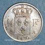 Monnaies Charles X (1824-1830). 1/4 franc 1830A