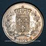 Monnaies Charles X (1824-1830). 2 francs 1828W. Lille