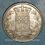 Monnaies Charles X (1824-1830). 5 francs 1er type 1826 A