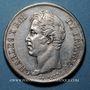 Monnaies Charles X (1824-1830). 5 francs, 2e type 1827 MA. Marseille