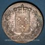 Monnaies Charles X (1824-1830). 5 francs, 2e type, 1828D. Lyon