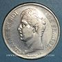 Monnaies Charles X (1824-1830). 5 francs 2e type 1829M. Toulouse