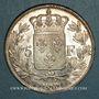 Monnaies Charles X (1824-1830). 5 francs 2e type 1830A