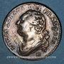 Monnaies Constitution (1791-1792). 12 deniers 1792 B Rouen, type FRANCOIS