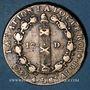Monnaies Constitution (1791-1792). 12 deniers 1792A, an 4. Type FRANCOIS, rosette