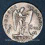 Monnaies Constitution (1791-1792). 15 sols 1791AA. Metz. 2e semestre. Type FRANCAIS