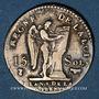 Monnaies Constitution (1791-1792). 15 sols 1792. Pau