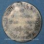 Monnaies Constitution (1791-1792). 18 deniers Caisse Métallique 1792, an 4