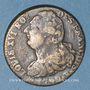 Monnaies Constitution (1791-1792). 2 sols 1792 B. Rouen. Type FRANCOIS