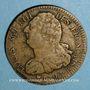 Monnaies Constitution (1791-1792). 2 sols 1792 BB. Strasbourg. Type FRANCAIS. Cuivre