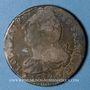 Monnaies Constitution (1791-1792). 2 sols 1792 W. Lille, 1er semestre, type FRANCOIS
