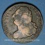 Monnaies Constitution (1791-1792). 2 sols 1792AA Metz, type FRANCOIS. Métal de cloche
