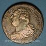 Monnaies Constitution (1791-1792). 2 sols 1792BB. Strasbourg. Type FRANCAIS. Cuivre