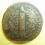 Monnaies Constitution (1791-1792). 2 sols 1792W. Lille, 1er semestre, type FRANCOIS