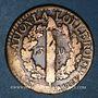 Monnaies Constitution (1791-1792). 3 deniers 1792 I. Limoges. Type FRANCOIS