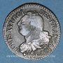 Monnaies Constitution (1791-1792). 3 deniers 1792BB. Strasbourg. Type FRANCAIS