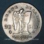 Monnaies Constitution (1791-1792). 30 sols 1792A. 1er semestre. Type FRANCOIS