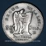 Monnaies Constitution (1791-1792). 30 sols 1792BB. Strasbourg. 1er semestre. Type FRANCAIS