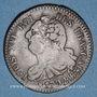 Monnaies Constitution (1791-1792). 6 deniers 1792BB. Strasbourg. Type FRANCAIS