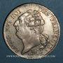 Monnaies Constitution (1791-1792). Ecu de 6 livres, type FRANCOIS 1792 A. 2e semestre