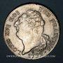 Monnaies Constitution (1791-1792). Ecu de 6 livres, type FRANCOIS 1792 I. Limoges. 1er semestre