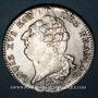 Monnaies Constitution (1791-1792). Ecu de 6 livres, type FRANCOIS 1792A, 2e semestre