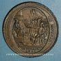 Monnaies Constitution (1791-1792). Monneron de 5 sols au serment 1792, an IV