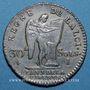 Monnaies Constitution (1791-92), 30 sols 1791I Limoges, 2e semestre, type FRANCOIS