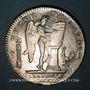 Monnaies Constitution (1791-92). Ecu de 6 livres, type FRANCOIS 1792I. Limoges, 1er sem. Variante inédite !