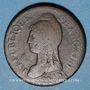 Monnaies Consulat (1799-1804). 1 décime an 9 G. Genève