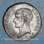 Monnaies Consulat (1799-1804). 40 francs an XI A. Etain. Non signé. Inédit !