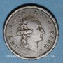 Monnaies Consulat (1799-1804). Essai de Gengembre à l'effigie de Lavoisier, gravé par Andrieux, an 9